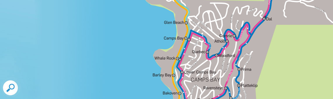 MiCity Bus Route to and from Camps Bay - Holiday Accommodation in Self Catering Apartments